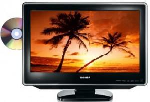 Toshiba Regza 19DV665DB 19 inch LCD TV